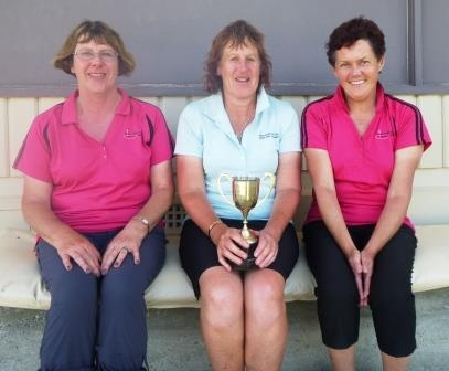 Gross Stableford Rosebowl Winners 2015