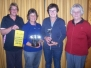 Womens Pennants Winners: 2011